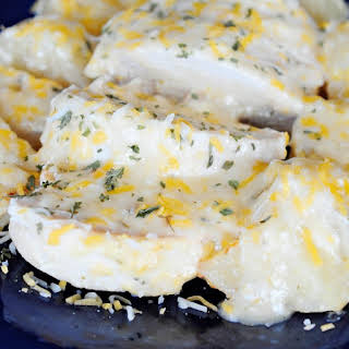 Cheesy Ranch Chicken and Potatoes.