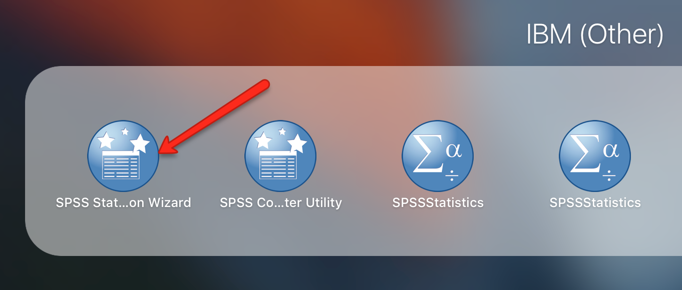 SPSS License Wizard MacOS