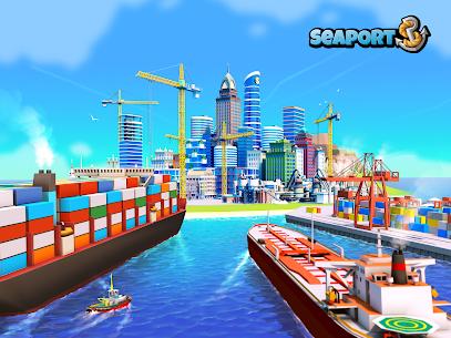 Sea Port: Build Town & Ship Cargo in Strategy Sim 9