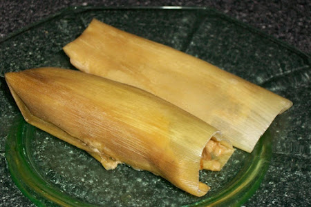 Green Chile/Corn Tamales Recipe