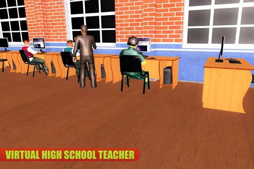 Virtual High School Teacher Life Simulator 3.1 screenshots 3