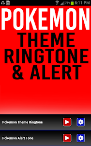 Pokemon Ringtone and Alert screenshot 0