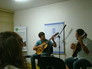 Photo: Mário e profº André