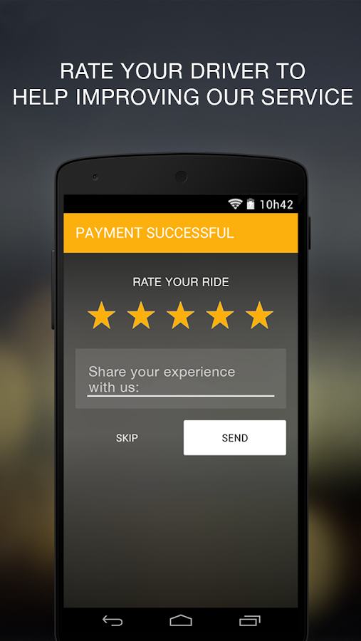 Easy Taxi - Free Taxi App- screenshot
