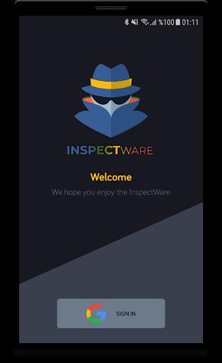 inspectware screenshot 1