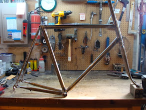Photo: The finished frame and fork.