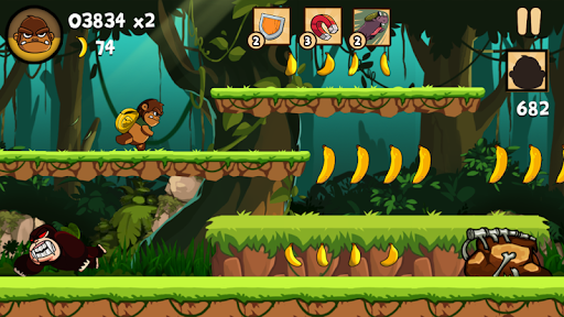 Kong Rush - Banana Run 1.0.4 screenshots 5