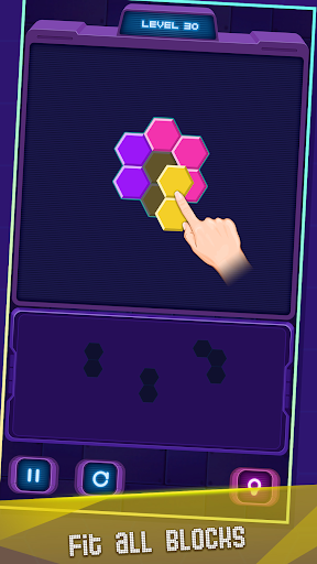 Hexa Puzzle screenshot 10