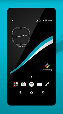 Black - Cyan Theme - screenshot