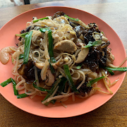 Pad Kee Mao with Baby Corn, Finger Chili, and Thai Basil (VEGAN OPTION AVAILABLE)