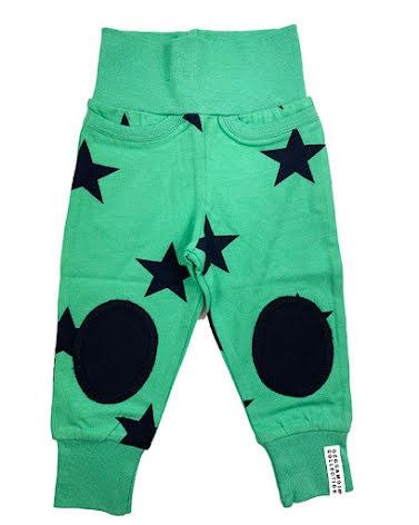 Geggamoja Babypant Green Star