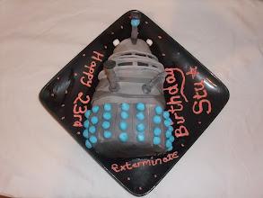 Photo: A Dalek themed cake