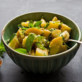 Lemon Potato Salad With Mint