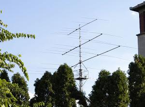 Photo: YU7KMN antennas: KLM monobanders