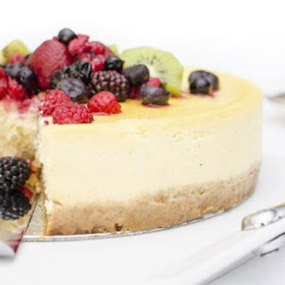 Traditional Irish recipe for butter shortbread cheesecake.
