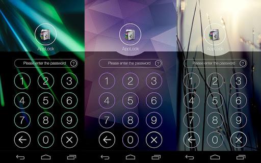 AppLock Theme Beam screenshot 3