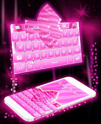 Bling Bling Keyboard Theme - screenshot
