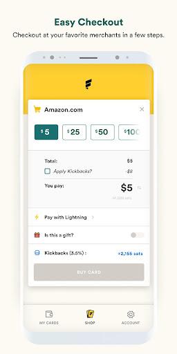 Fold - Bitcoin Cashback Rewards 1.1.84 screenshots 3