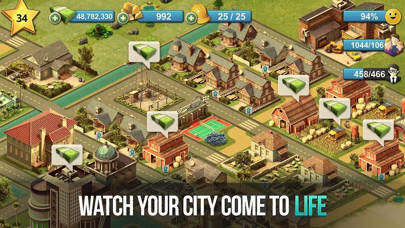 City Island 4- Simulation Town: Expand the Skyline Screenshot 1