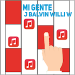 Piano Magic - J Balvin; Mi Gente Icon