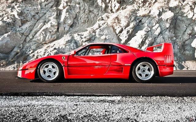 Ferrari F40 Tab