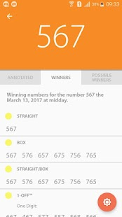 7 Lottery - Lotto Prediction Screenshot