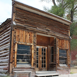 by Liz Huddleston - Buildings & Architecture Public & Historical ( bannack, bannack ghost town, ghost town, montana )
