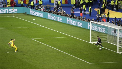 Soccer Euro 2016 France Romania