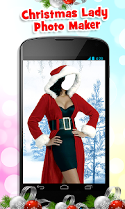Christmas Lady Photo Maker New screenshot 2