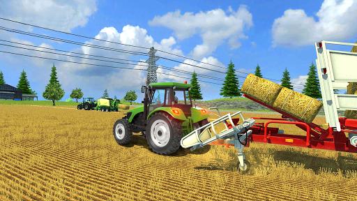 Real Farm Town Farming tractor Simulator Game 1.1.2 screenshots 10