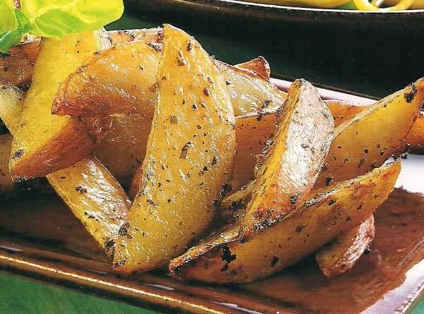 Pesto Potato Wedges