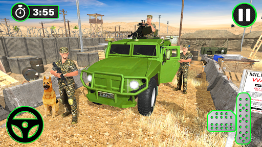 Army Vehicles Transport Simulator:Ship Simulator screenshot 11