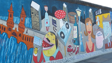 "Photo: East Side Gallery; Jim Avignon ""Doin It Cool For The East Side"""
