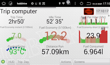 HobDrive Demo (OBD2 ELM diag) 1.4.23 screenshot 606384