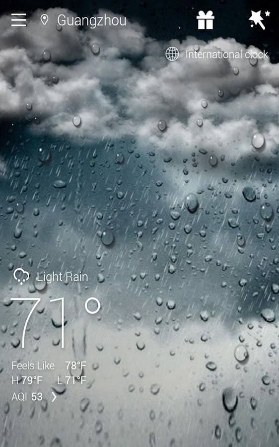 Screenshots of GO Weather Forecast & Widgets for iPhone