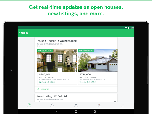 Trulia Real Estate & Rentals app (apk) free download for Android/PC/Windows screenshot