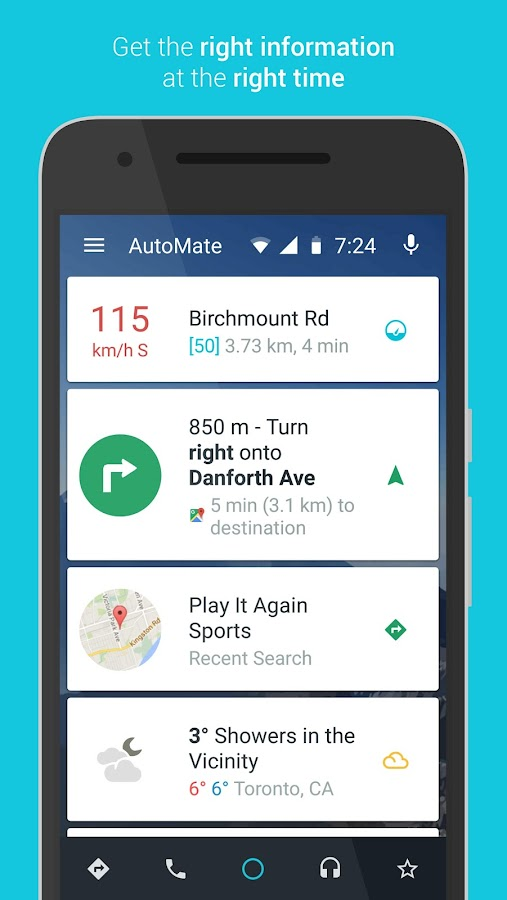 AutoMate - Car Dashboard- screenshot