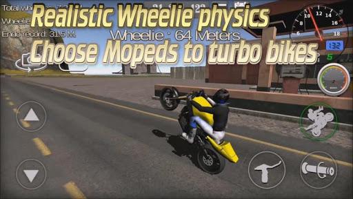 Wheelie King 3D - Realistic free  motorbike racing modavailable screenshots 1