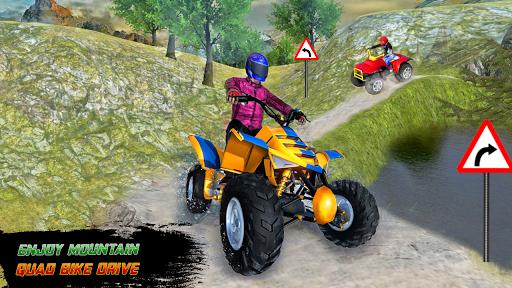 ATV Quad Bike Cargo Simulator Stunt Racing android2mod screenshots 4