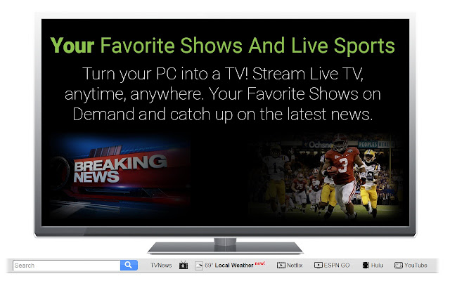 Watch Online Streams chrome extension