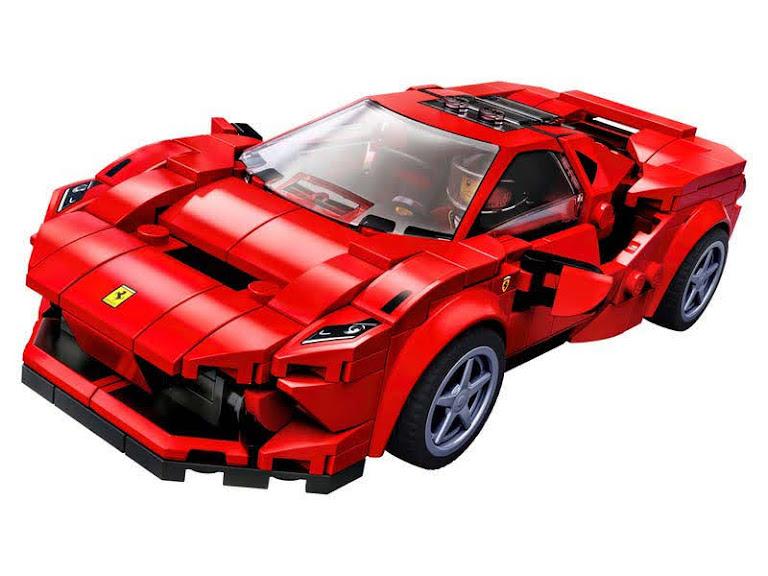 Contenido de Lego® 75895 Ferrari F8 Tributo