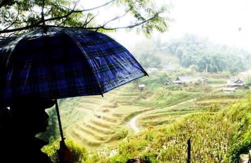 Ghé thăm bản Cát Cát vào một ngày mưa 4