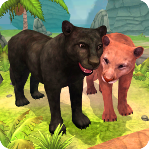 Panther Family Sim Online - Animal Simulator Icon