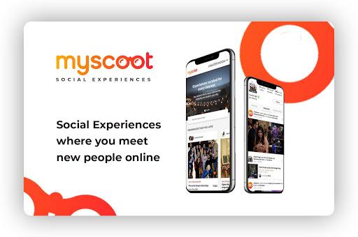 MyScoot: Online Events & HouseParty  screenshots 1
