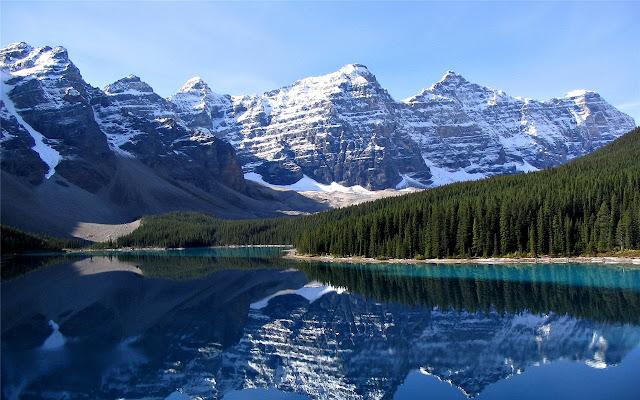 Canadian Rockies Theme & New Tab