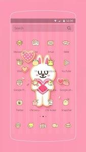 Pink Love Rabbit screenshot 1