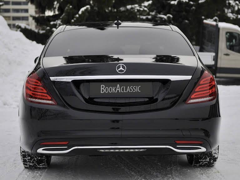 Mercedes-Benz S-klasse Hire Kjeller