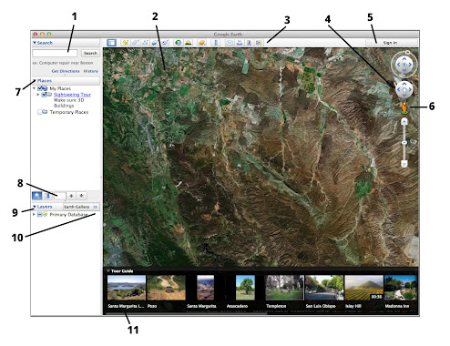 Getting to know Google Earth - Earth Help