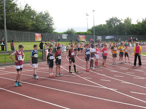 Photo: Start of the Boys U/13 300m Gala at the Cork City Sports 2012