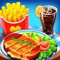 Kitchen Star Craze - Chef Restaurant Cooking Games icon